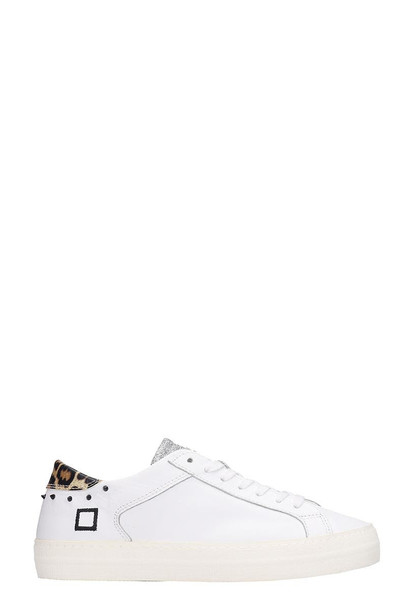 D.A.T.E. D.A.T.E. Curve Sneakers In White Leather