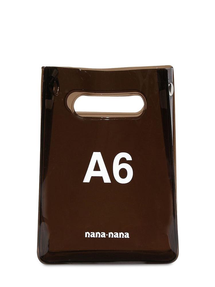 NANA NANA A6 Pvc Shopping Bag in black