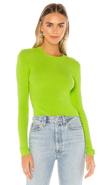 Privacy Please Mason Sweater in Green