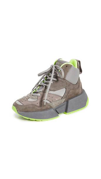 MM6 Maison Margiela High Top Sneakers in grey