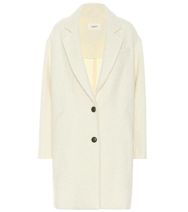 Isabel Marant, Étoile Dante bouclé coat in white