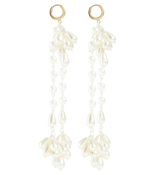 Magda Butrym Gold-plated earrings with faux pearls