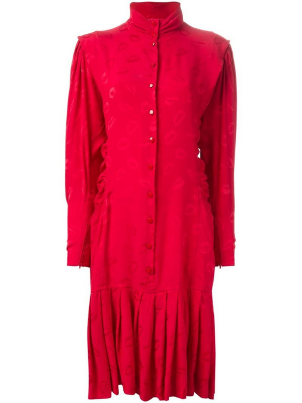 Emanuel Ungaro Pre-Owned 'Kiss' dress in red