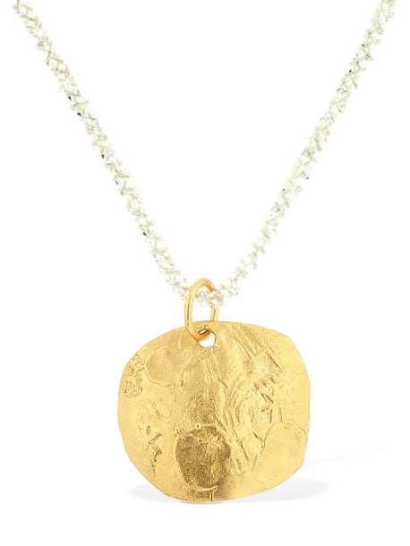ALIGHIERI A Captured Memory Necklace in gold