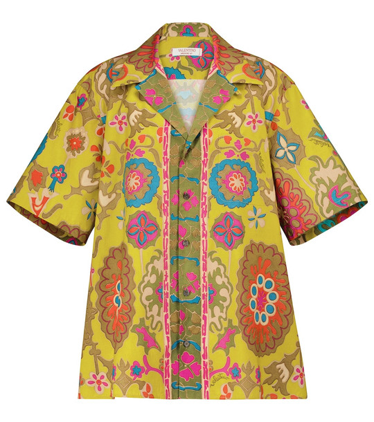 Valentino Exclusive to Mytheresa – Printed cotton shirt