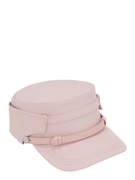 MAX MARA Elenice Cotton Marine Hat in pink