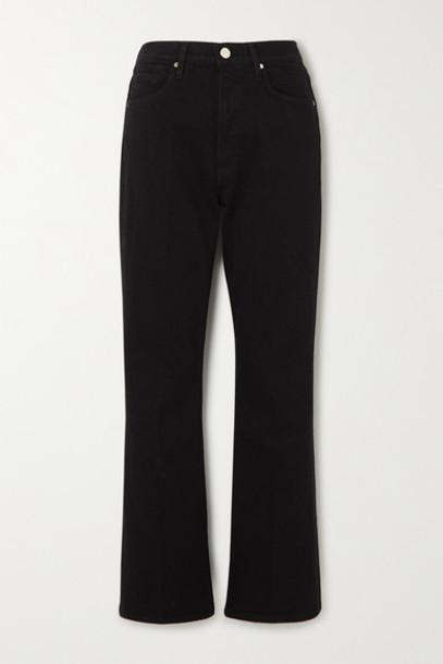 GOLDSIGN - Net Sustain The High Rise Slim-leg Jeans - Black