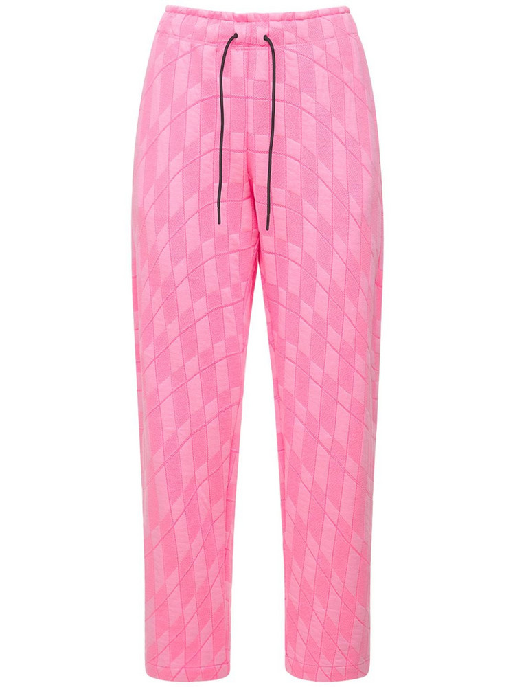 NIKE Tech & Cotton Running Pants in pink