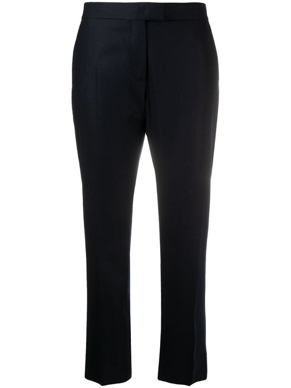 PS Paul Smith cropped tailored trousers in blue