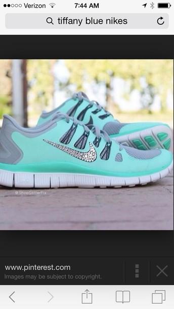 shoes run free nike bling