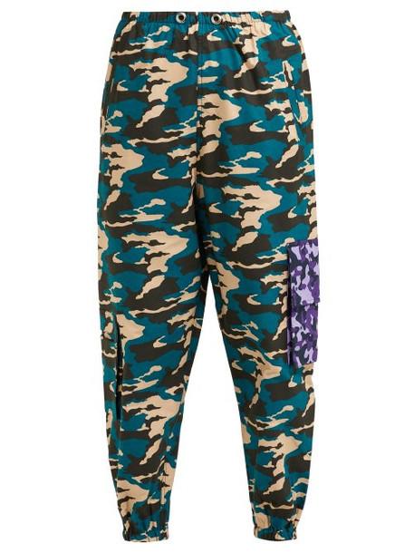 86241a70 Natasha Zinko Natasha Zinko - Camouflage Print Cargo Trousers - Womens -  Multi