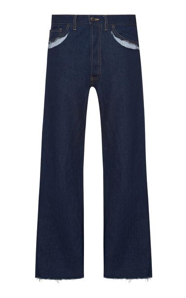 Maison Margiela High-Rise Straight-Leg Jeans Size: 40
