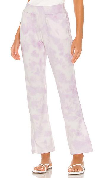 525 america Tie Dye Full Length Pants in Lavender in lilac