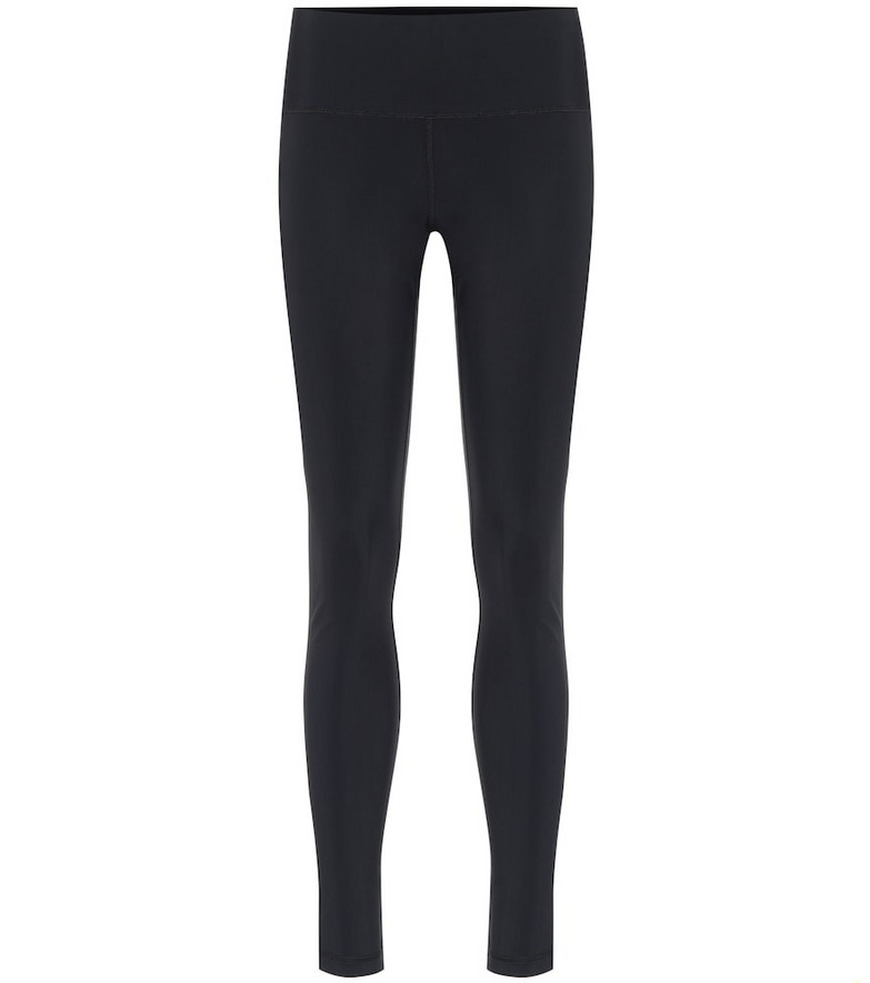 WARDROBE.NYC Stretch leggings in black