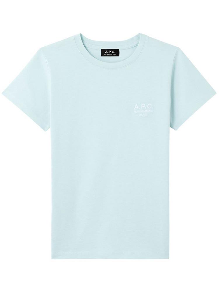 A.P.C. Denise Logo Cotton  Jersey T-shirt
