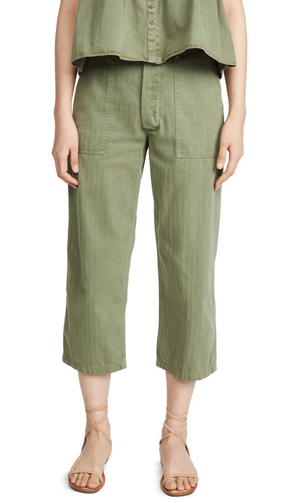 THE GREAT. THE GREAT. The Herringbone Trooper Pants
