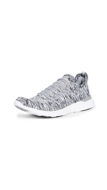 APL: Athletic Propulsion Labs TechLoom Breeze Sneakers in grey / white