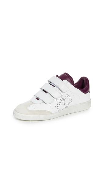 Isabel Marant Beth Sneakers in purple