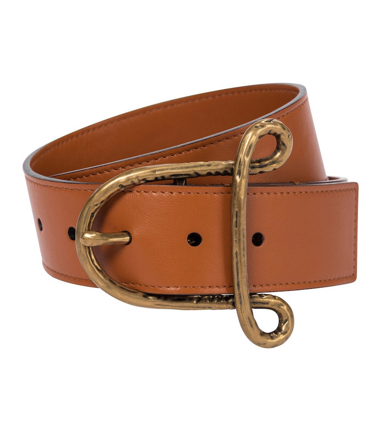 Altuzarra Leather belt in brown