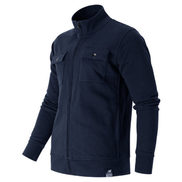 New Balance 53510 Men's Fleece Jacket - Navy (MJ53510NV)