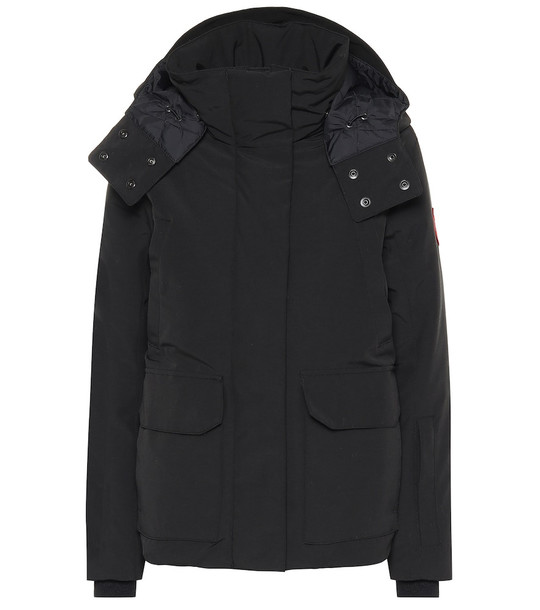 Canada Goose Blakely down parka in black