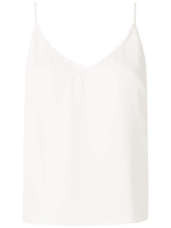 Martha Medeiros Juliana tank top in white