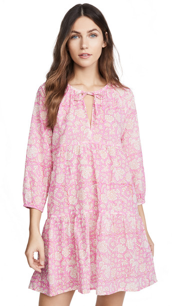 SZ Blockprints Priya Dress in pink