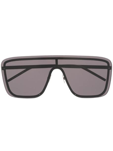Saint Laurent Eyewear SL364 Mask sunglasses in black