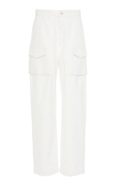 Goldsign The Utility Pant Size: 23 in white
