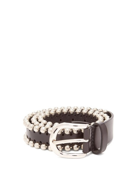 Isabel Marant - Tokky Leather Belt - Womens - Black
