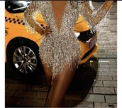 dress,embellished,silver,sparkle,diamonds