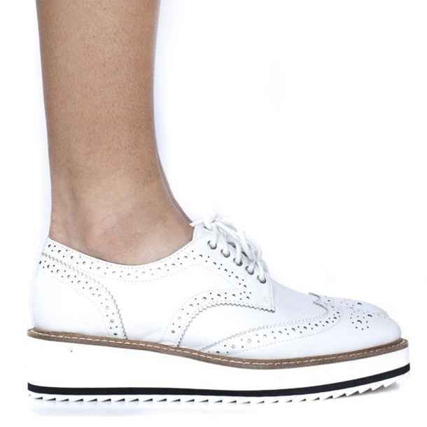 shoes, oxfords, white, white shoes