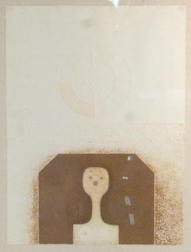 1970's Original Framed Abstract Artwork Signed https://www.artdecornyc.com