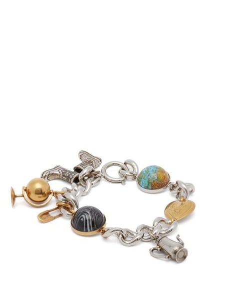 Burberry - Charm Bracelet - Womens - Gold