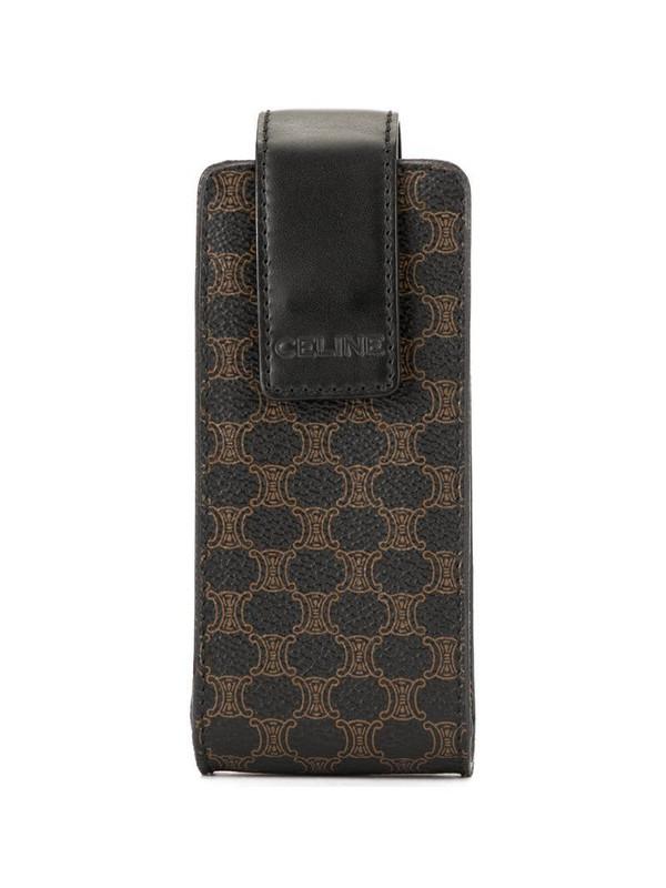 Céline Pre-Owned Celine Macadam Pattern Pouch Bag in brown