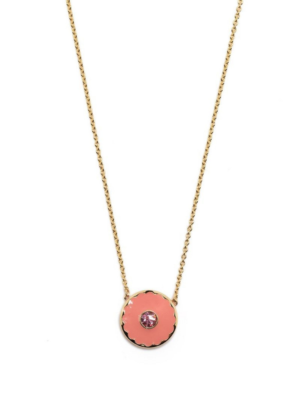 Marc Jacobs medallion chain necklace in gold