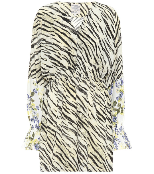 Baum und Pferdgarten Exclusive to Mytheresa – Ariana tiger-print minidress in yellow