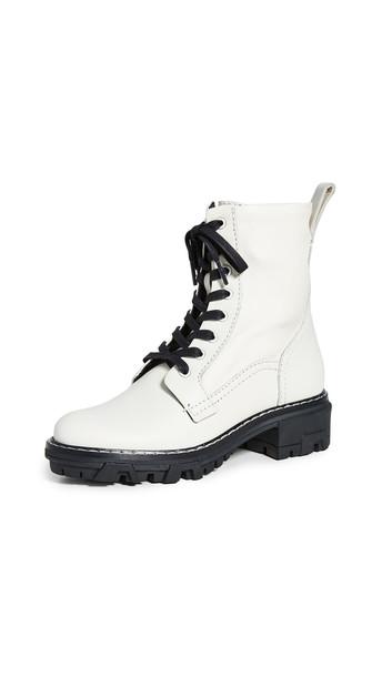 Rag & Bone Shiloh Boots in white