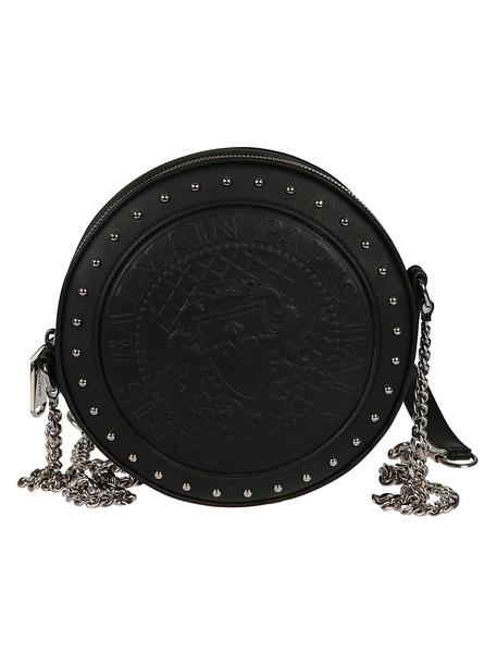 Balmain Disco Shoulder Bag in black