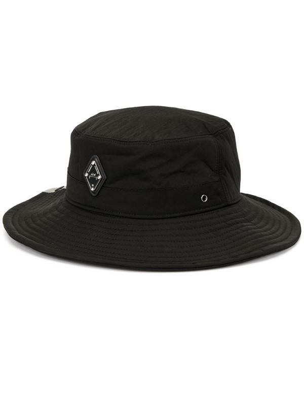 A-COLD-WALL* wide brim sun hat in black