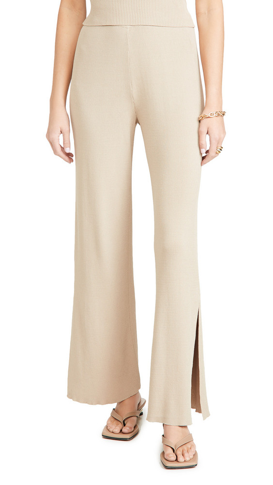 Lioness New York City Pants in beige