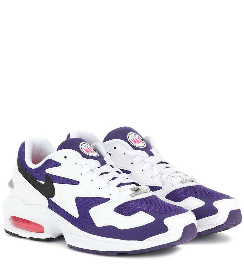 Nike Air Max2 Light sneakers in white
