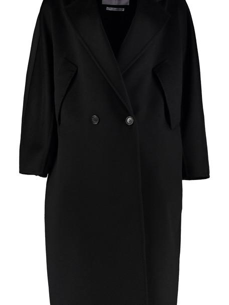 Max Mara Zelig Cashmere Long Coat in black