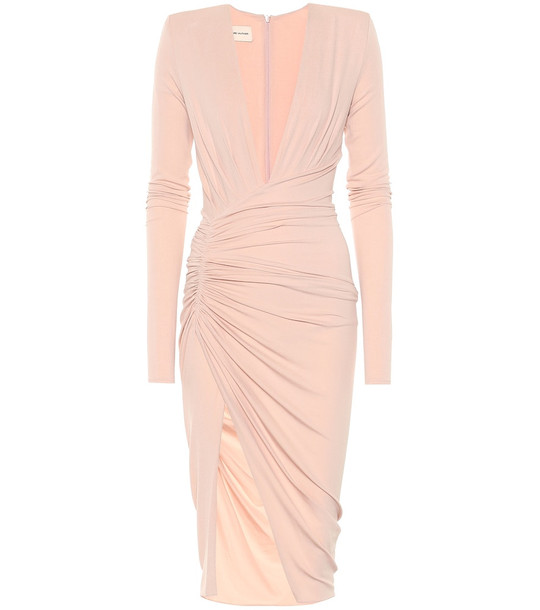 Alexandre Vauthier Stretch-crêpe dress in pink