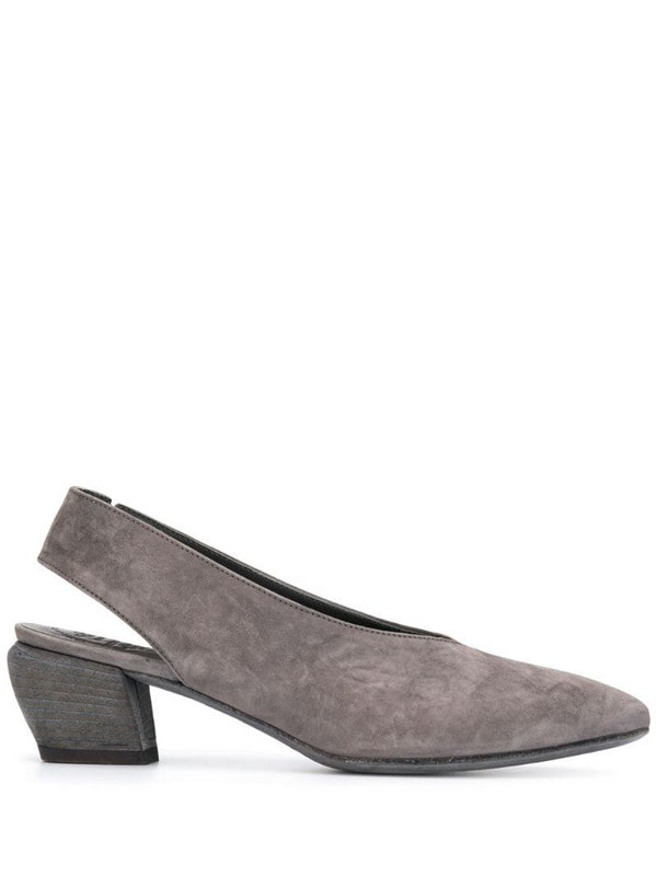 Officine Creative Sally mules in grey