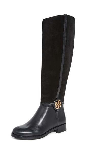 Tory Burch Miller 25mm Boots in black