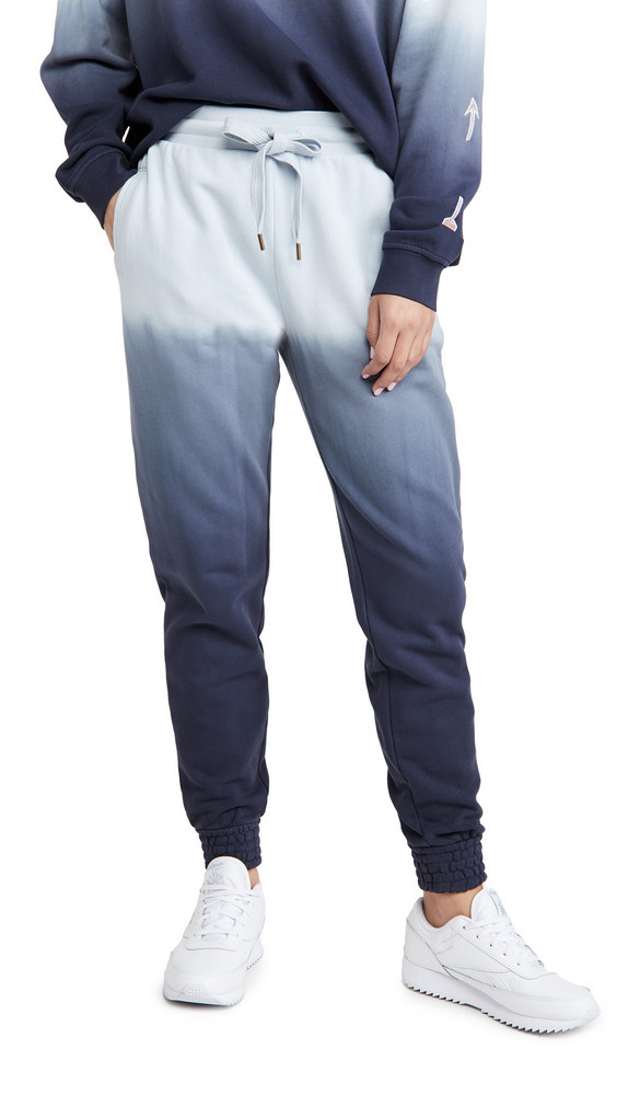 The Upside Ombre Alena Track Pants in navy