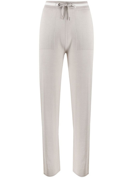 Eleventy fine knitted trousers in grey