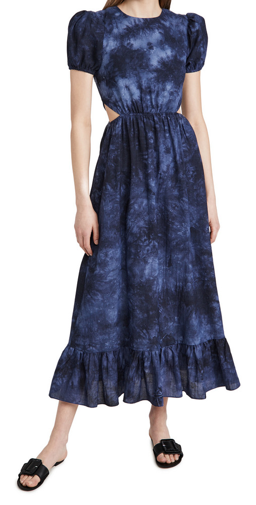 LIKELY Rosa Dress in navy