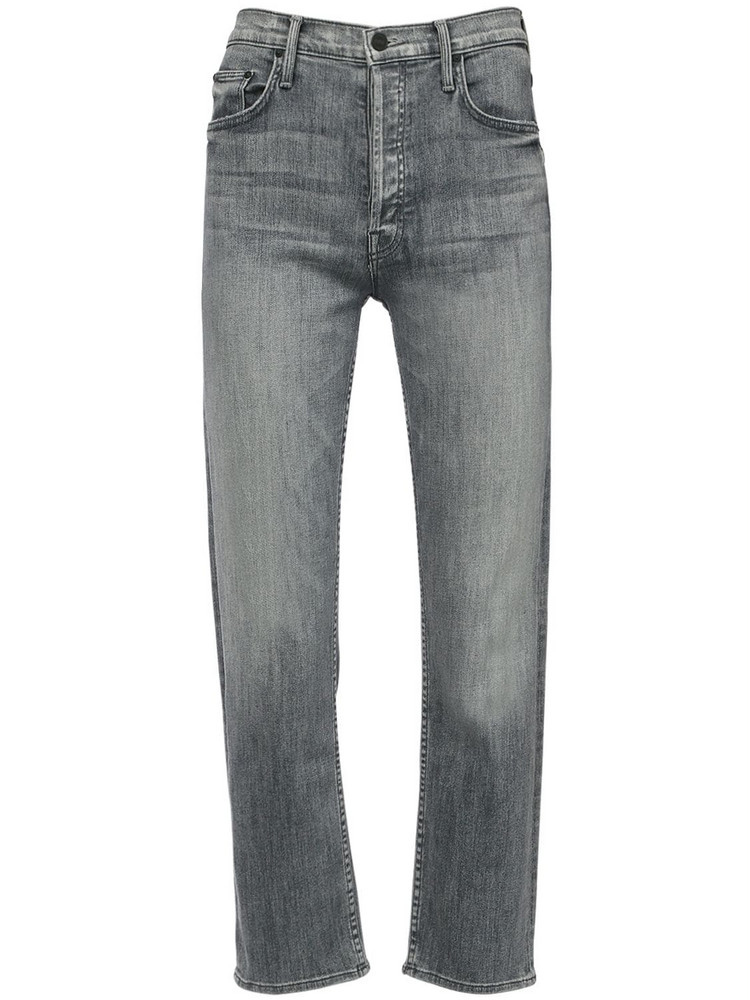 MOTHER The Tomcat Ankle Cotton Jeans in grey